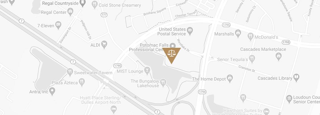 Westlake Legal group location map
