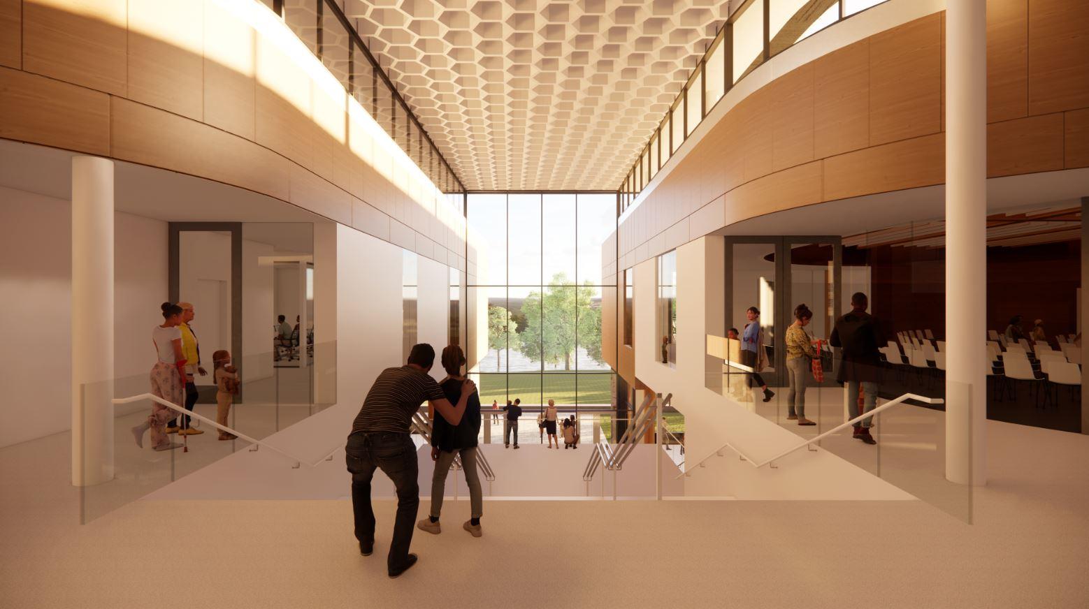 rendering on top floor