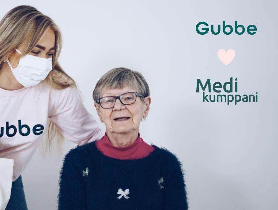 Gubbe ❤️ Medikumppani