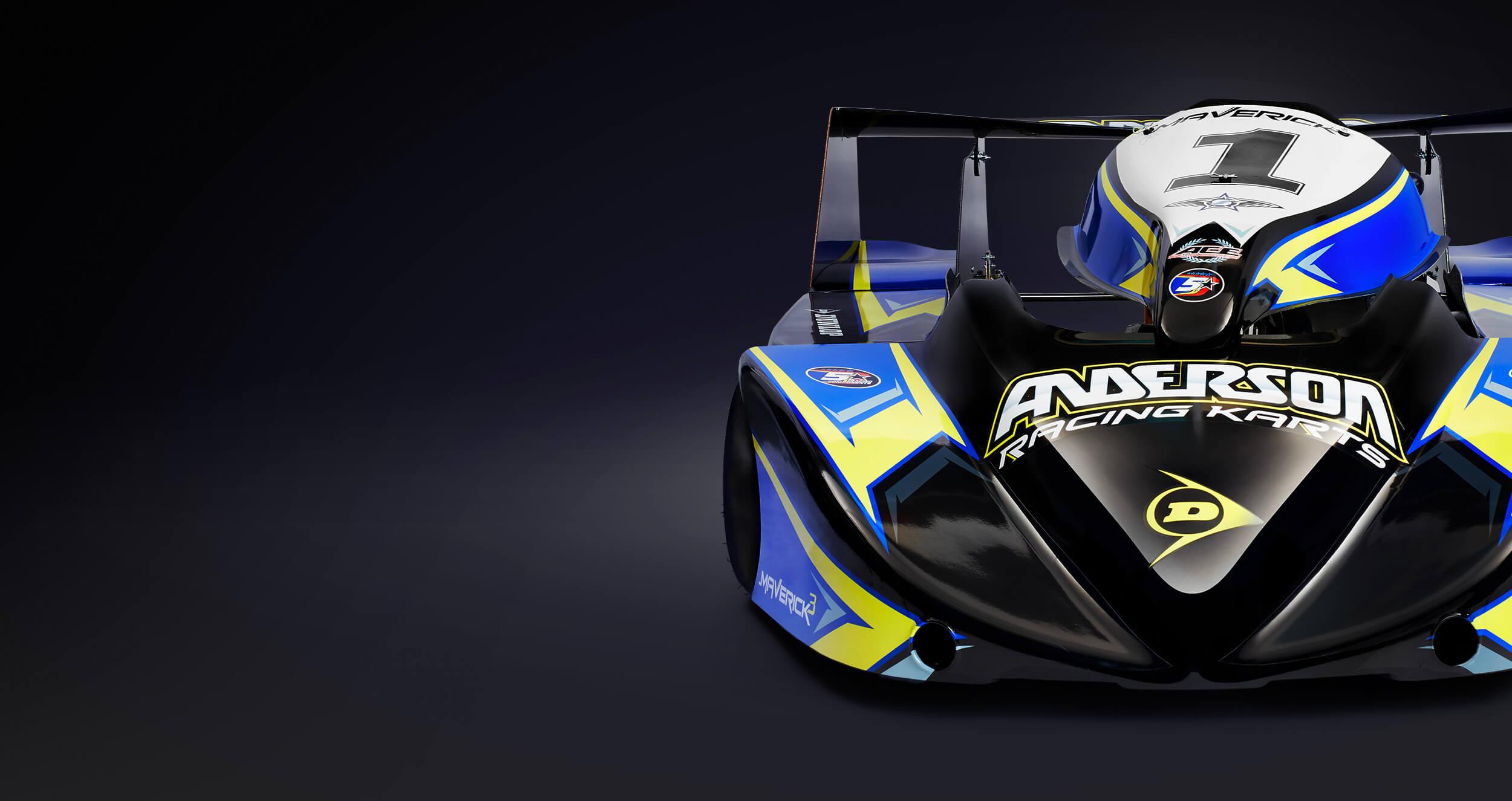 Anderson Karts Marverick 3 250 Mono Superkart