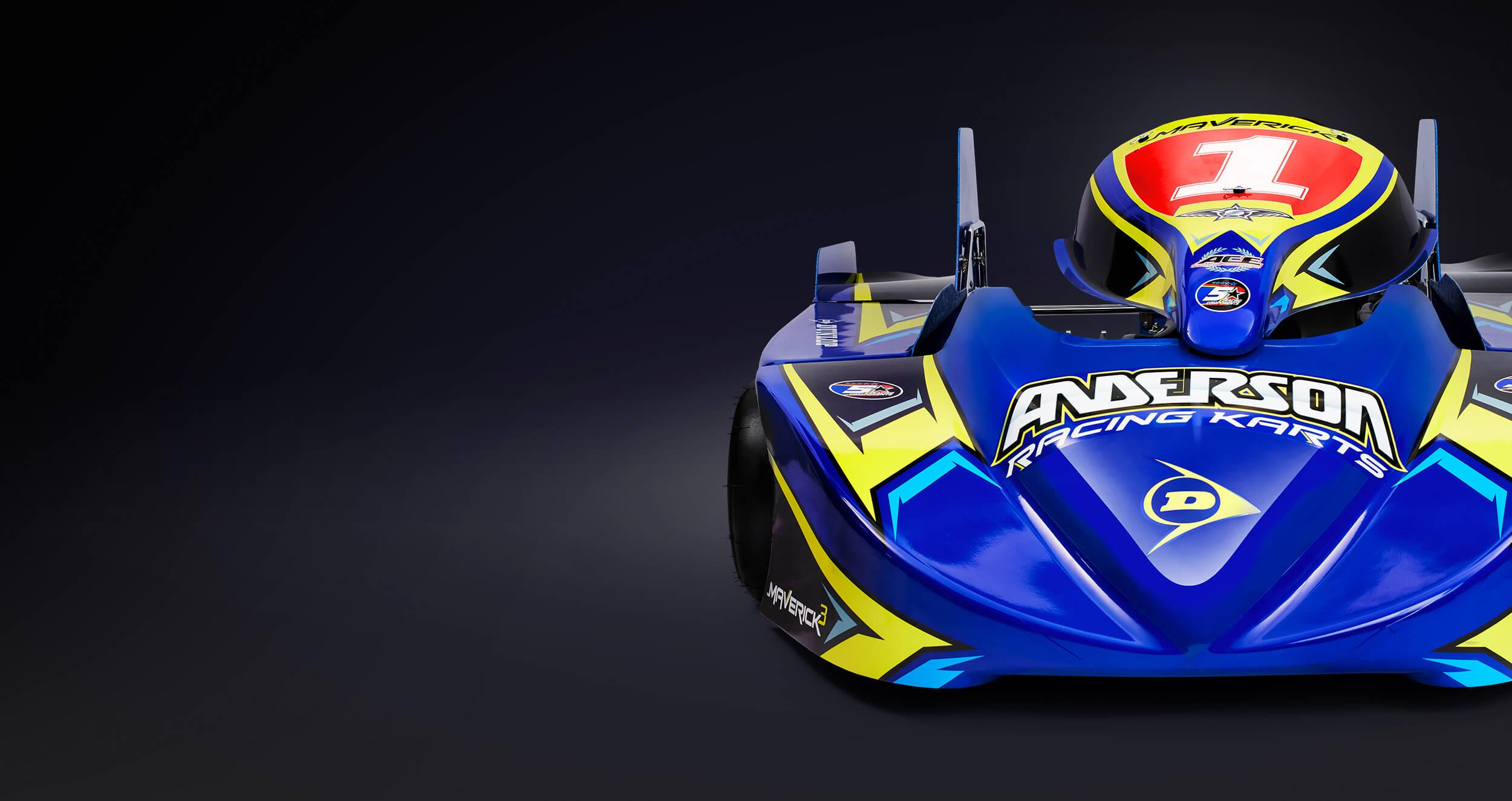 Anderson Karts Marverick 3 125 Long Circuit Superkart