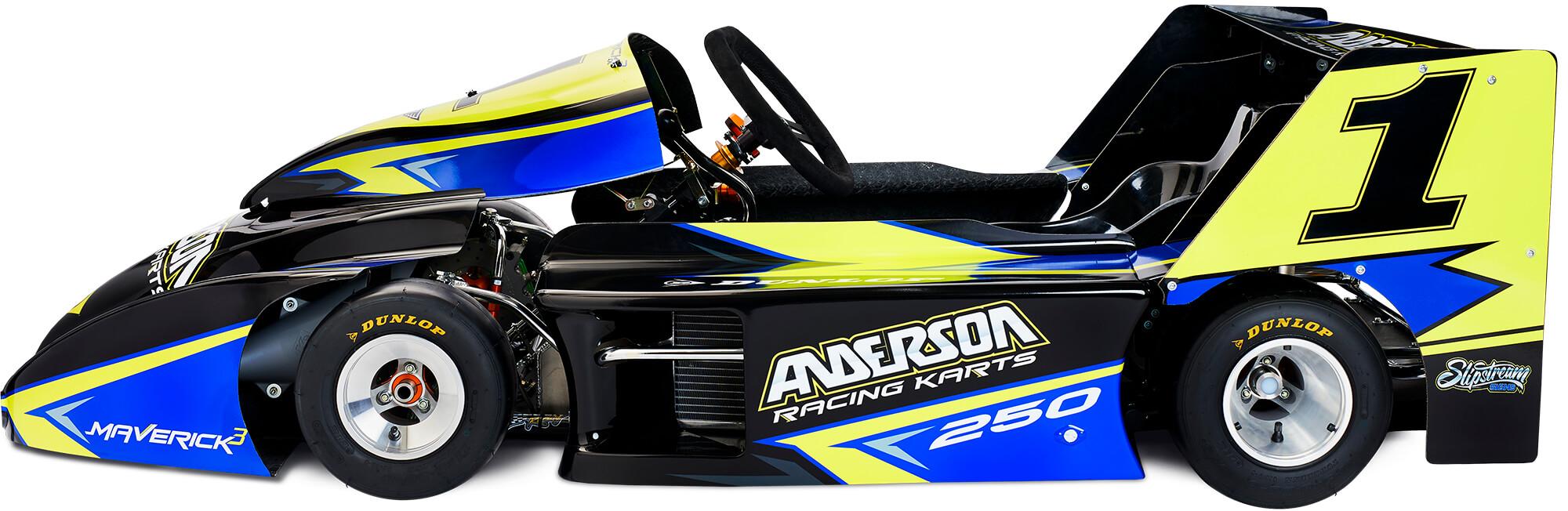 Anderson 250 Div 1 Superkart