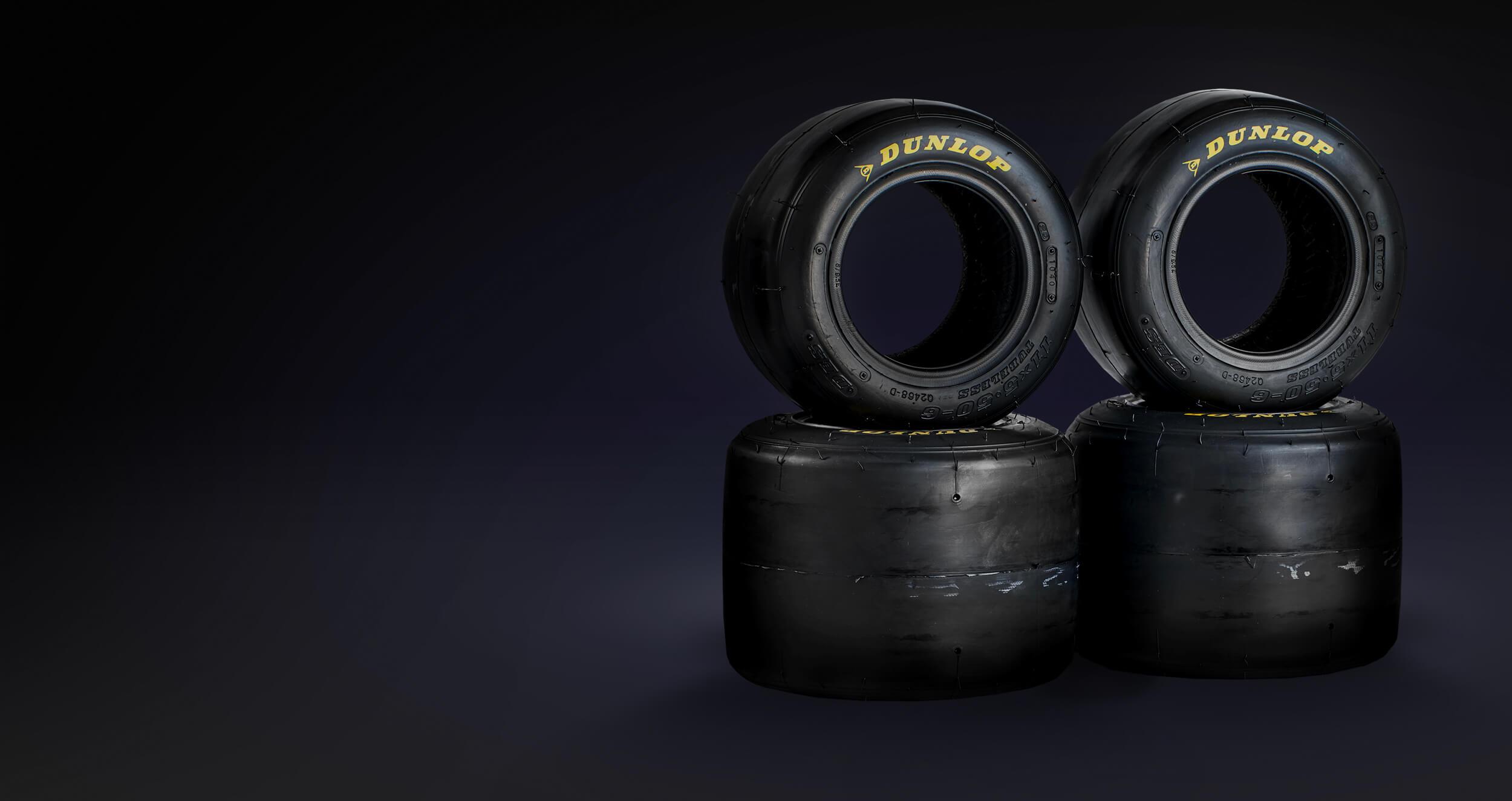 """6"""" Superkart Tyres"""