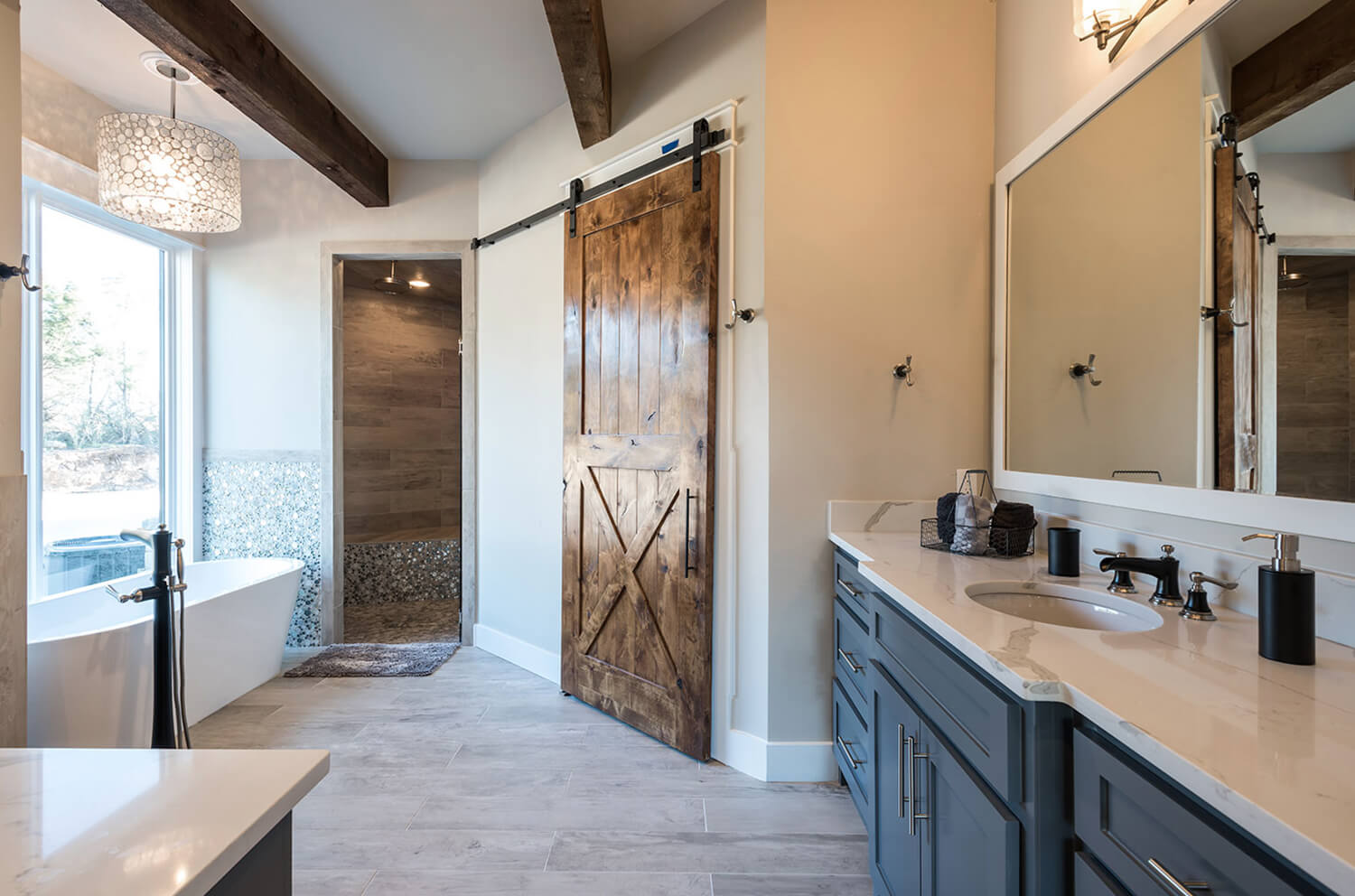 A new construction home in Possum Kingdom