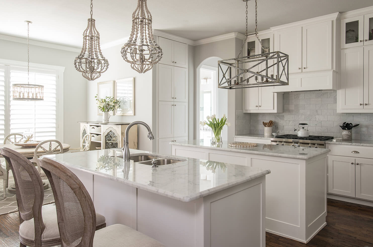 A whole home furnishings project in Colleyville, Texas