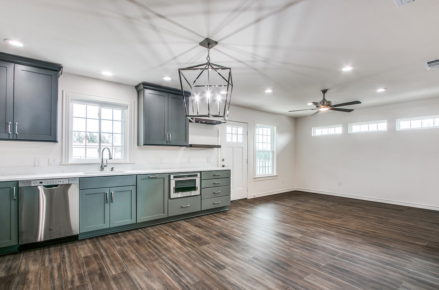 A full home mother-in-law suite remodel in Texas