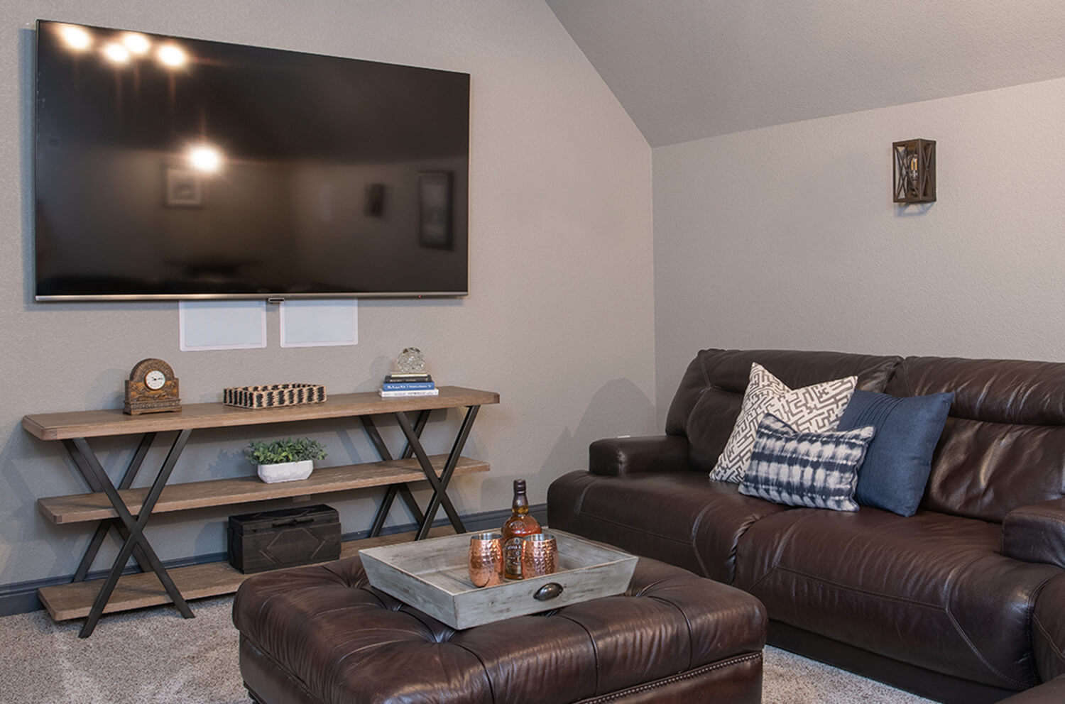 A whole home furnishings project in Coppell, Texas