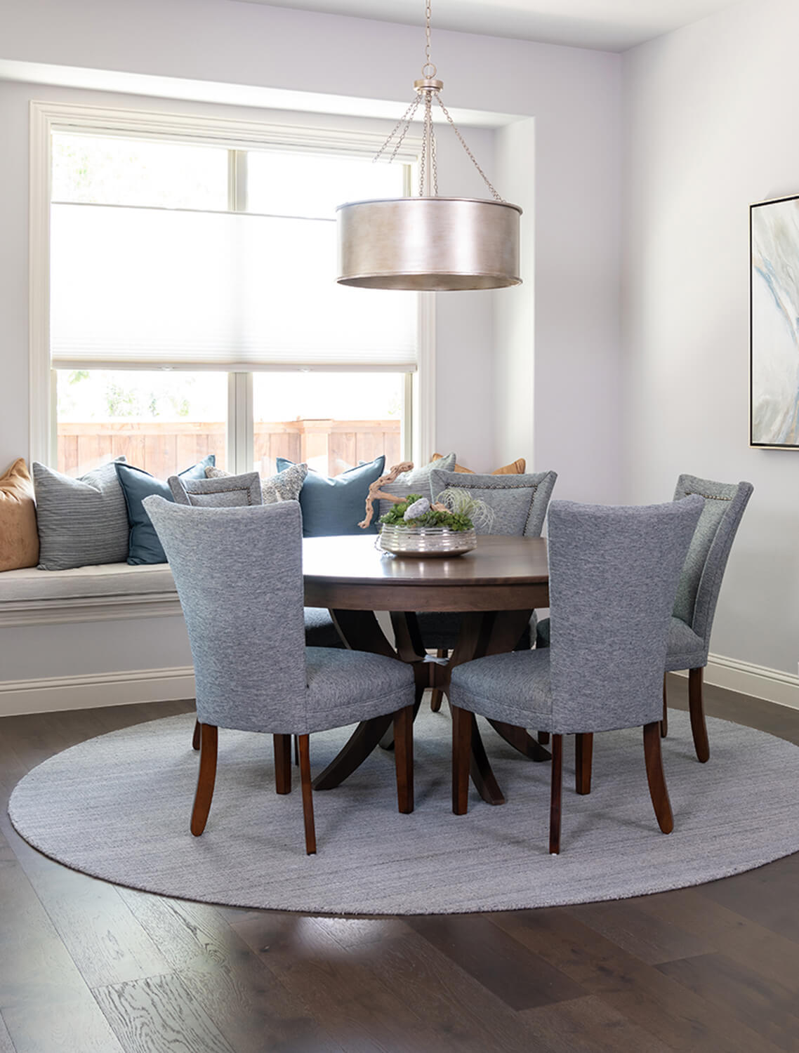 A whole home furnishings project in Flower Mound, Texas