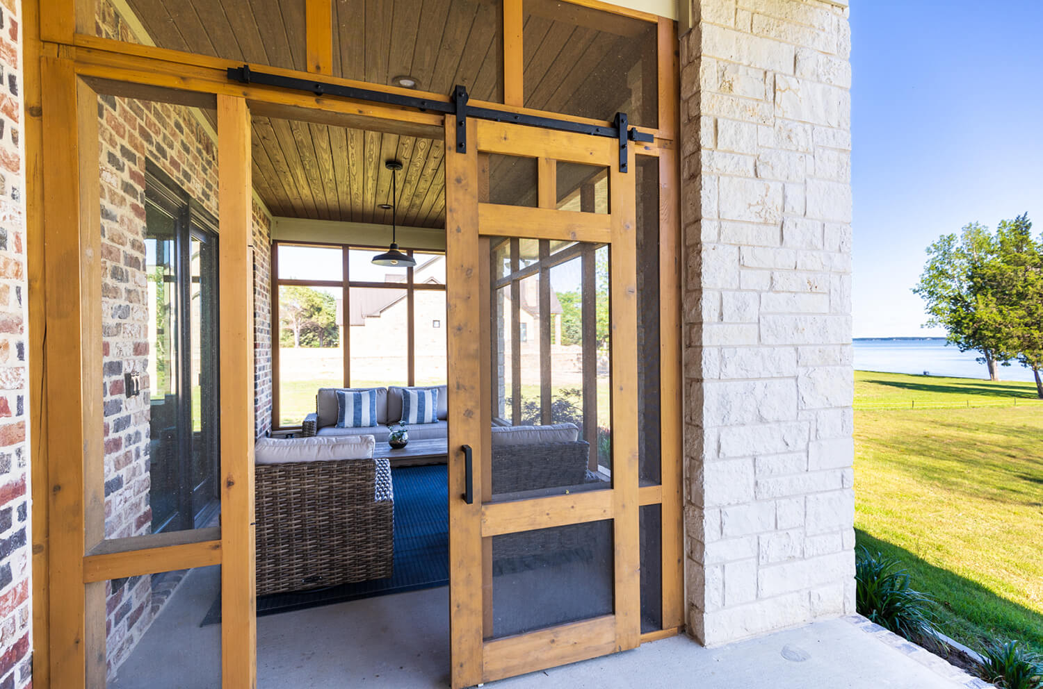 A new construction and whole home furnishings project in Richland Chambers, Texas