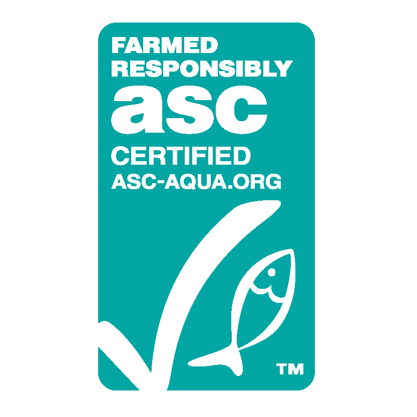 ASC Certified. Farmed Responsibly.