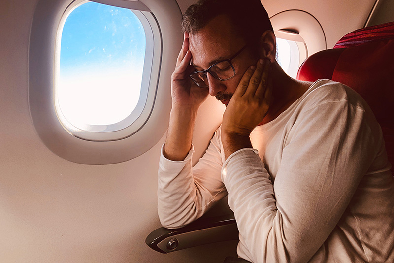 Flying is mentally and physically draining as it is; if you throw sinus pain into the mix, flying becomes unbearable.