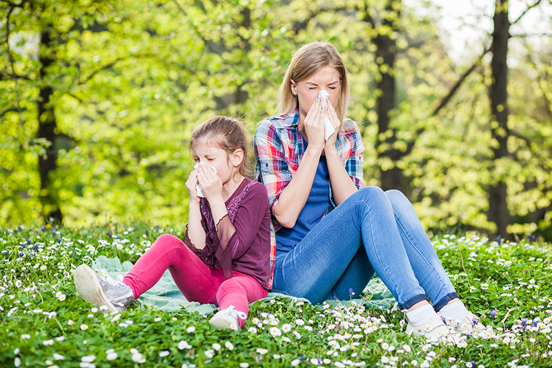 April showers bring May flowers, and in Maryland, allergy season. The switch from winter to summer often presents a problem for allergy sufferers.