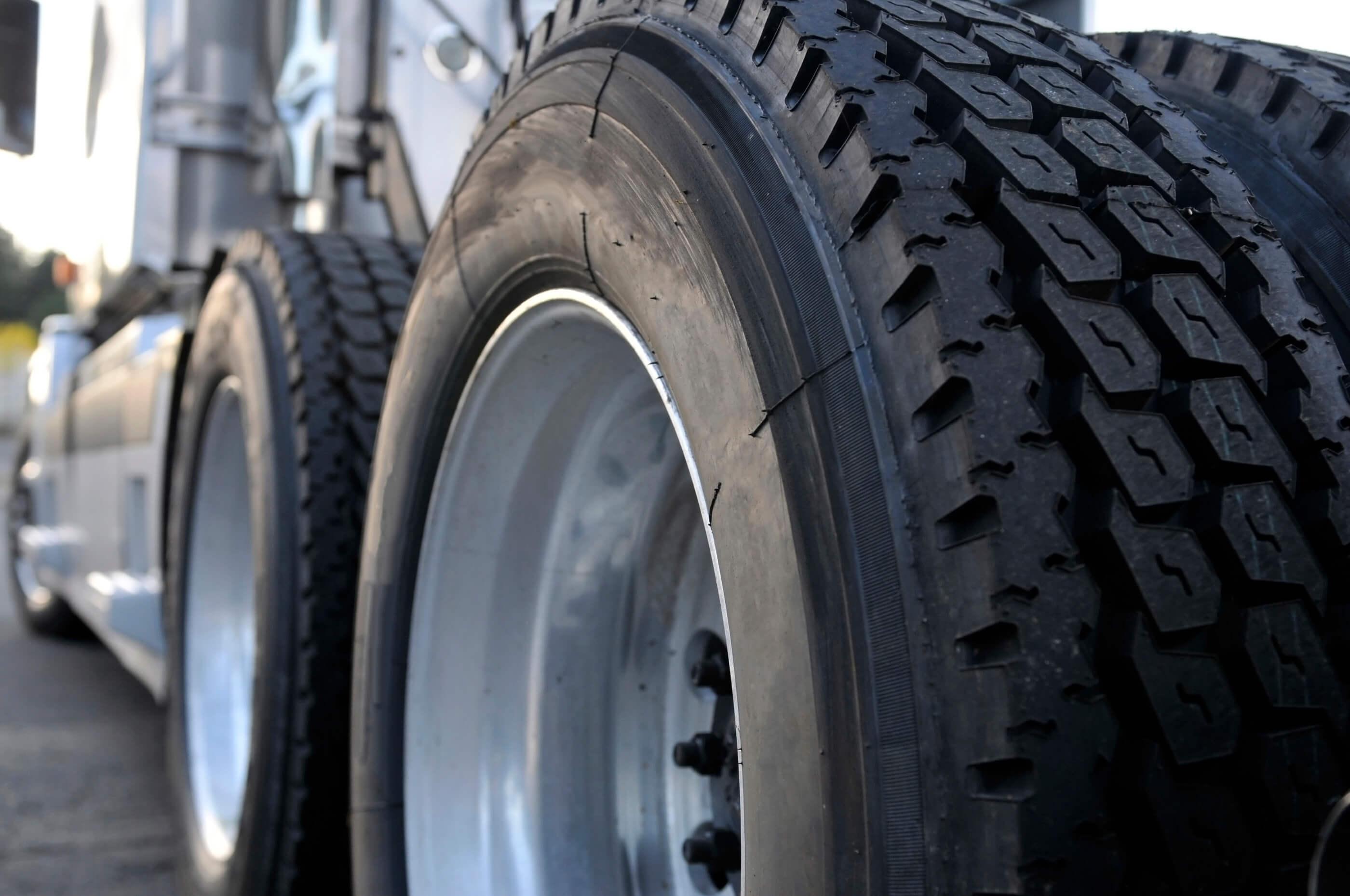 Big semi truck tires