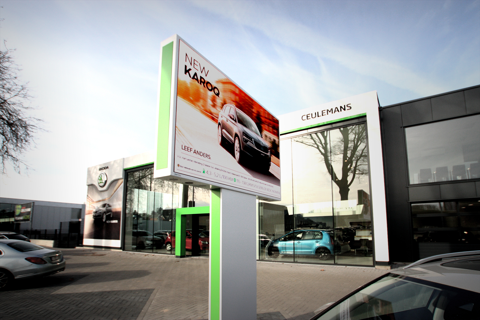 BrightBoard - LED Totems - Outdoor