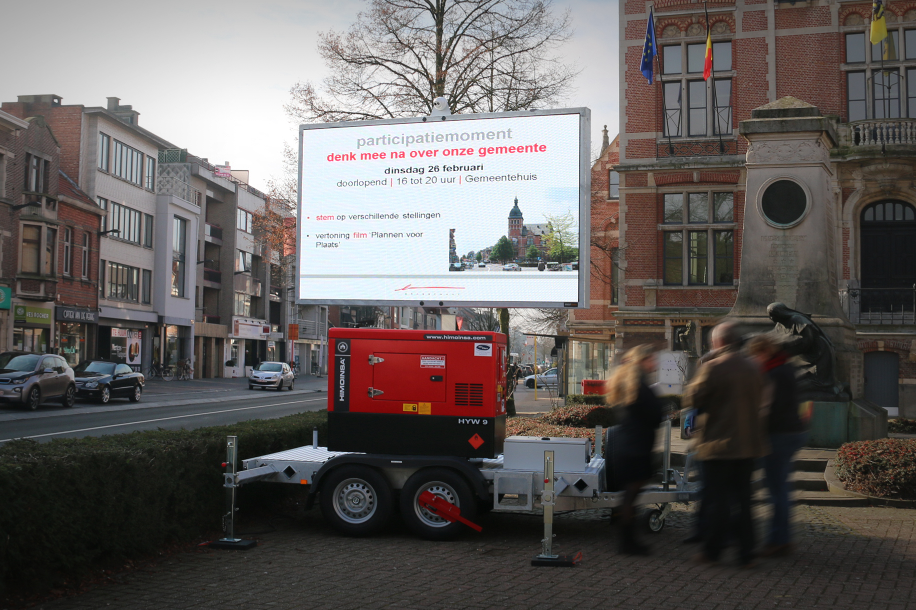 BrightBoard - LED Trailer - Outdoor