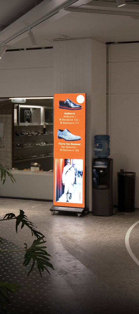 BrightBoard - LED Poster - Indoor