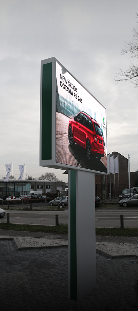 BrightBoard - LED Totem - Outdoor