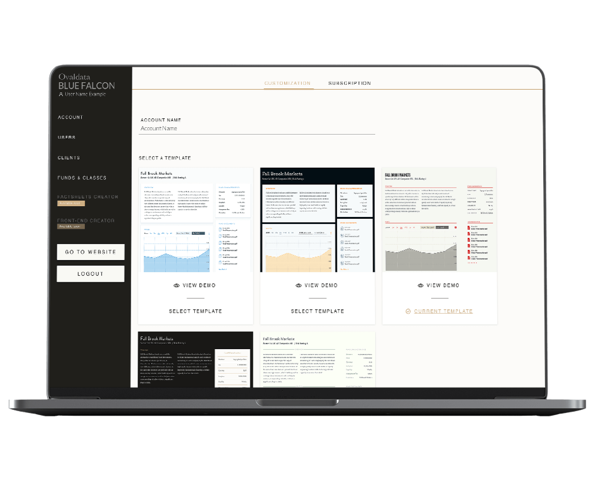 Imaginary Cloud UX/UI design and software development project for OvalData.