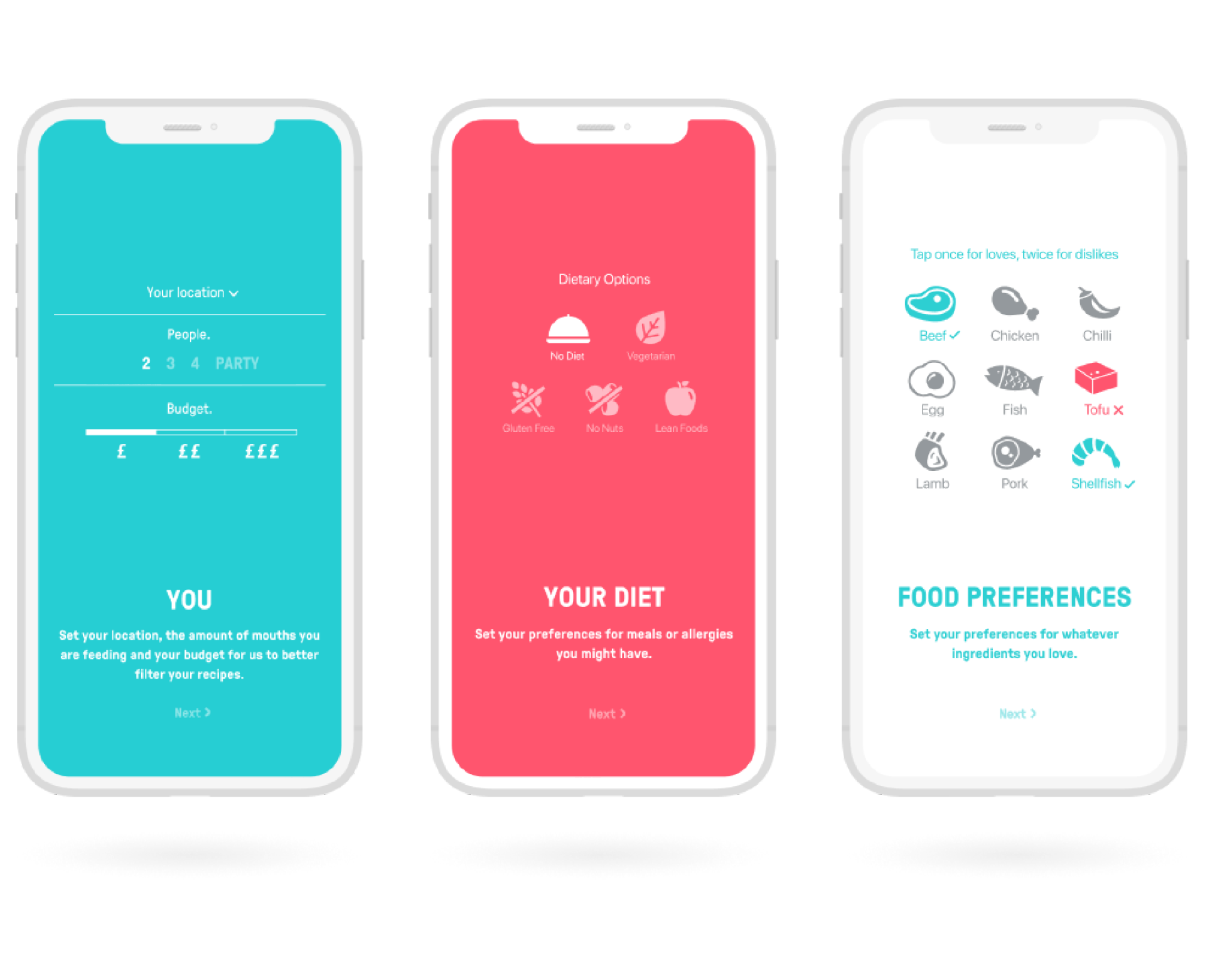 Imaginary Cloud app development project for Mucho.