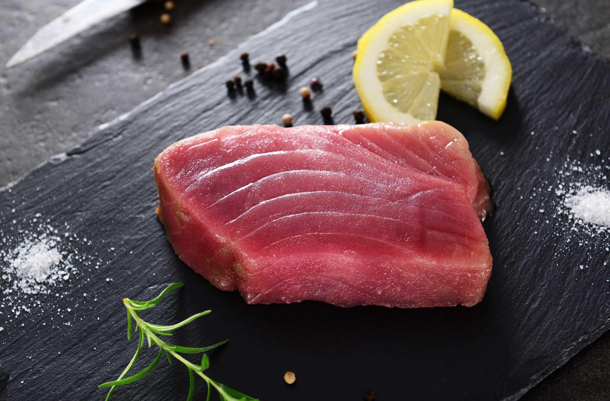 Yellow Fin Tuna Steaks