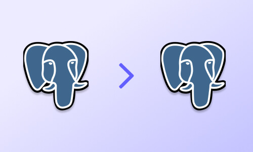 How to sync 2 PostgreSQL databases in minutes