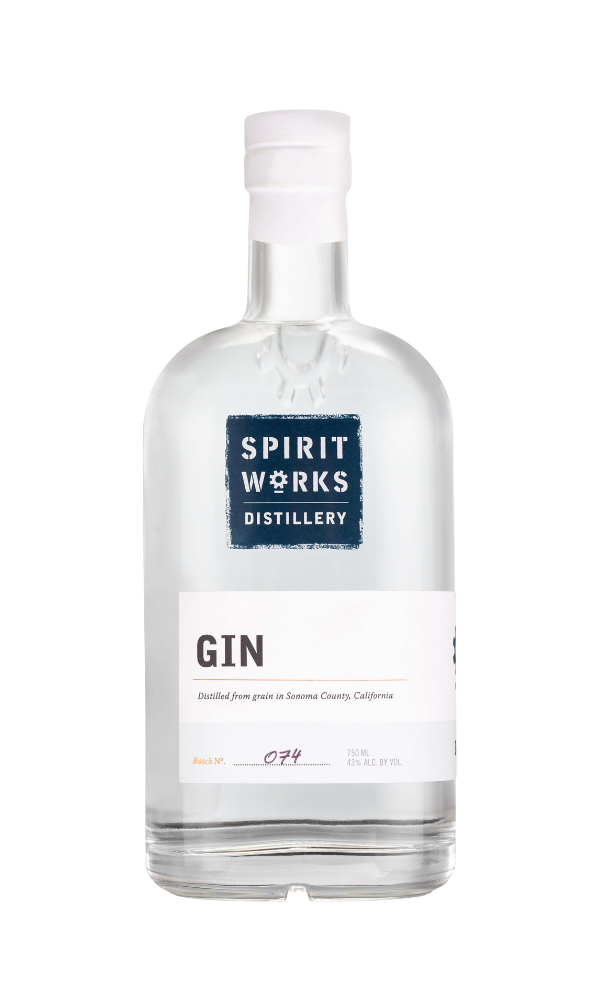 Spirit Works Distillery Gin bottle