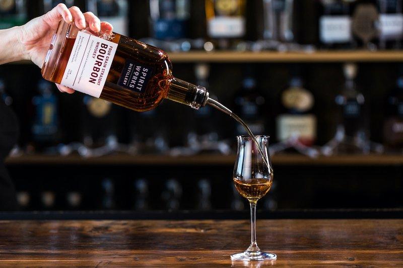 Spirit Works new Bourbon