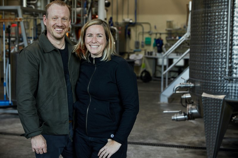 Timo & Ashby, founders of Spirit Works Distillery