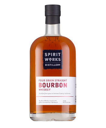 Spirit Works is one of the best new bourbons.