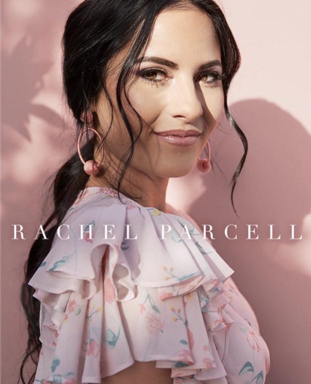 Rachel Parcell spray tan