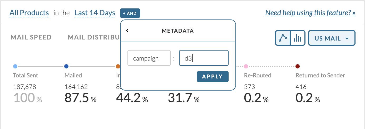 Metadata Filtering Example
