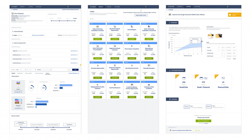 Saylent's Dashboard That Helps Users Improve Customer Engagement
