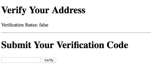 lob verify your address