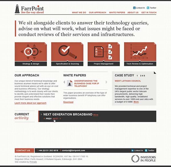 FarrPoint website v1