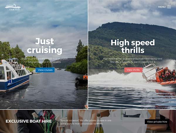 Cruise Loch Ness homepage