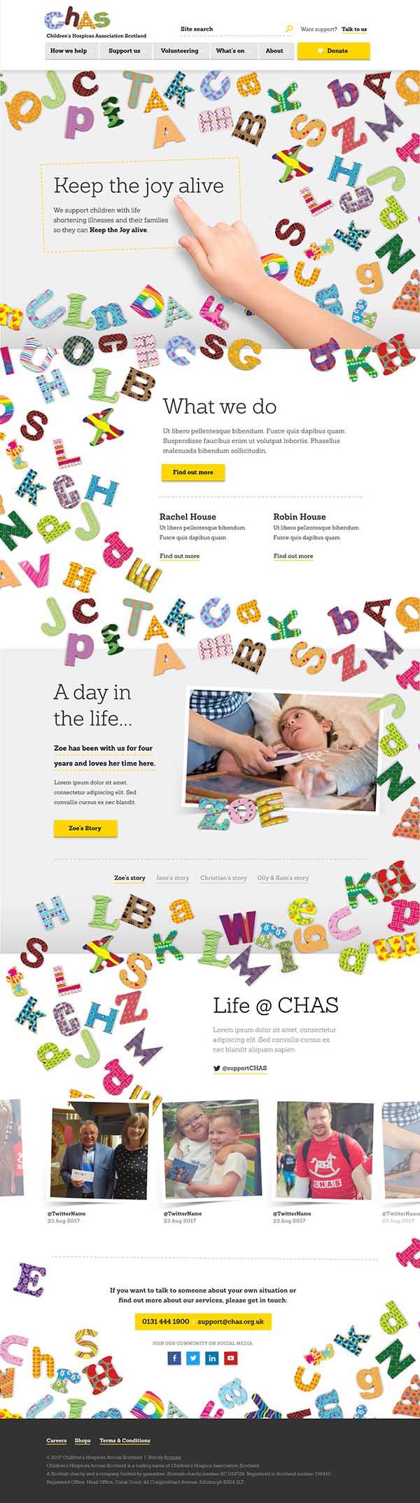 CHAS homepage