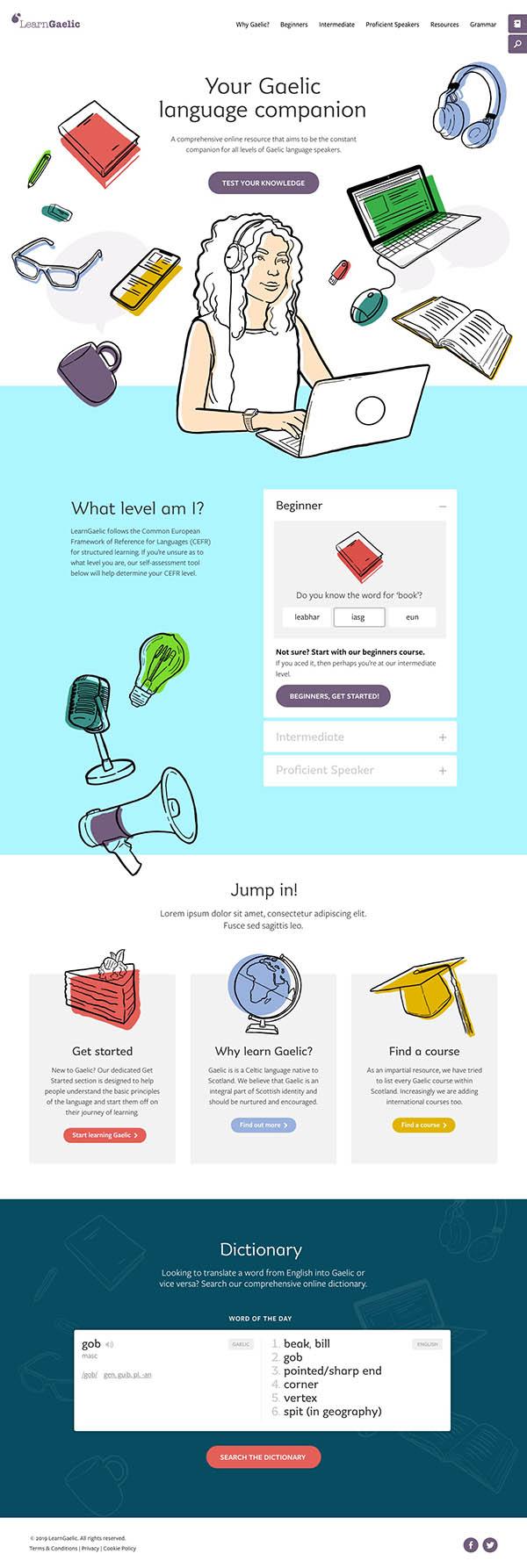 LearnGaelic homepage