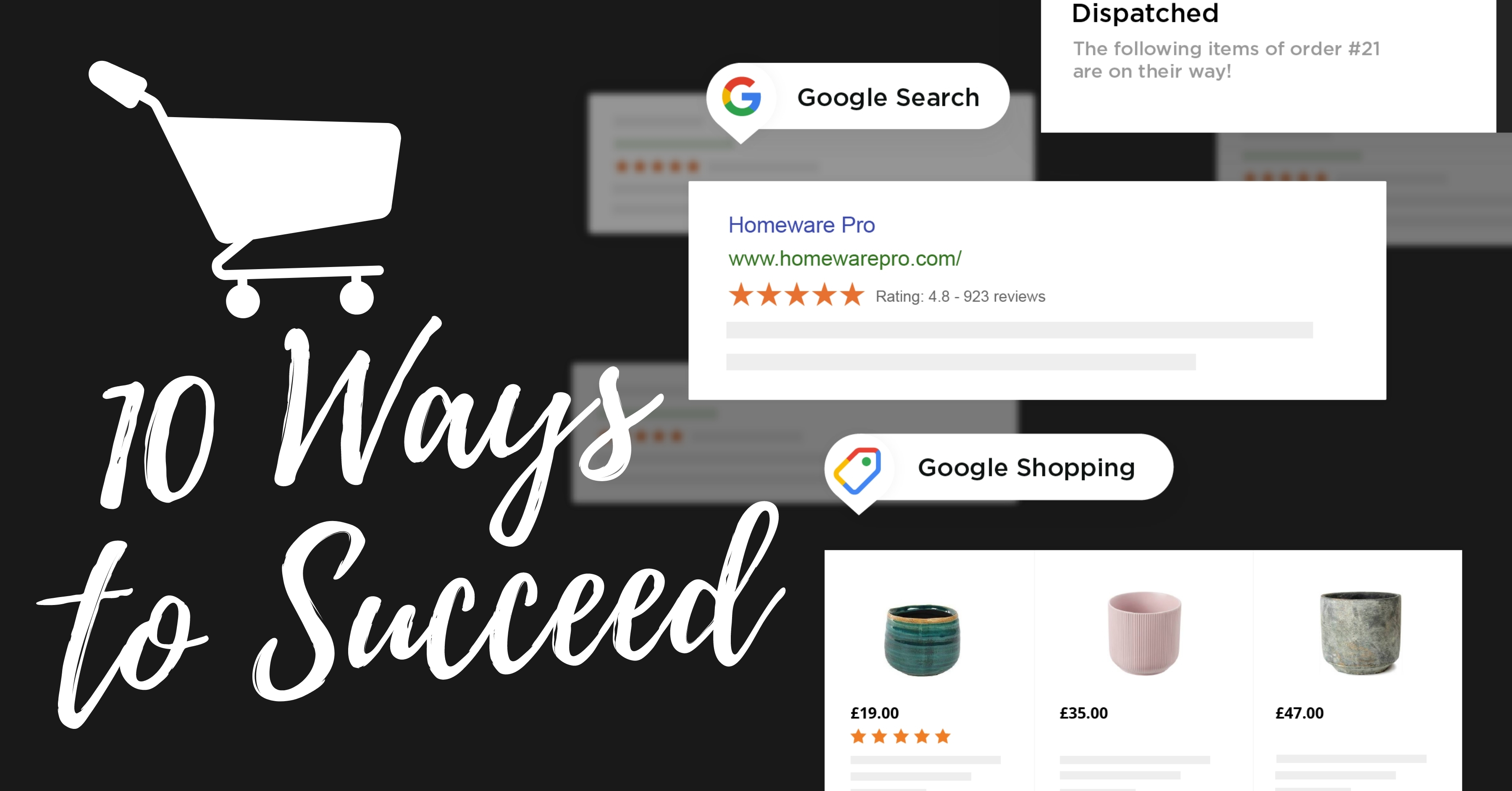 10 ways to Succeed at Google Shopping