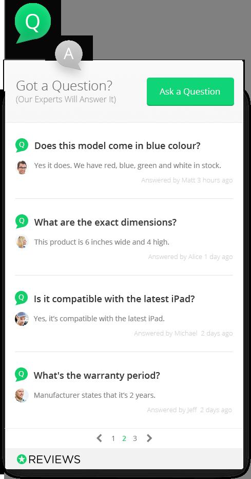 product review widget magento reviews.io