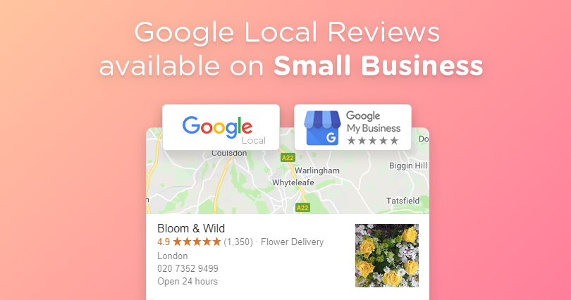 Feature: Google Local Reviews Meets Small Business