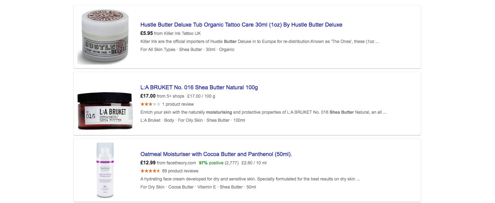 Shea Butter Moisturiser Reviews
