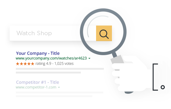 how to get stars in google search results reviews.io