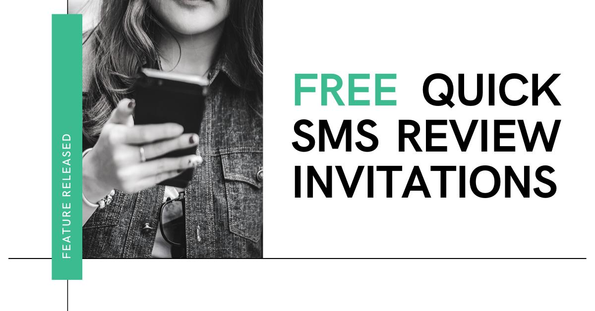 Send Review Requests Via SMS