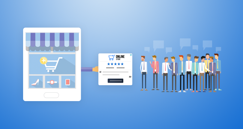 Draw Shoppers Back To Your Site Using Review Retargeted Ads & Social Media