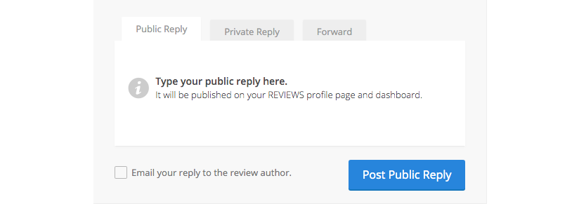 reply to a review