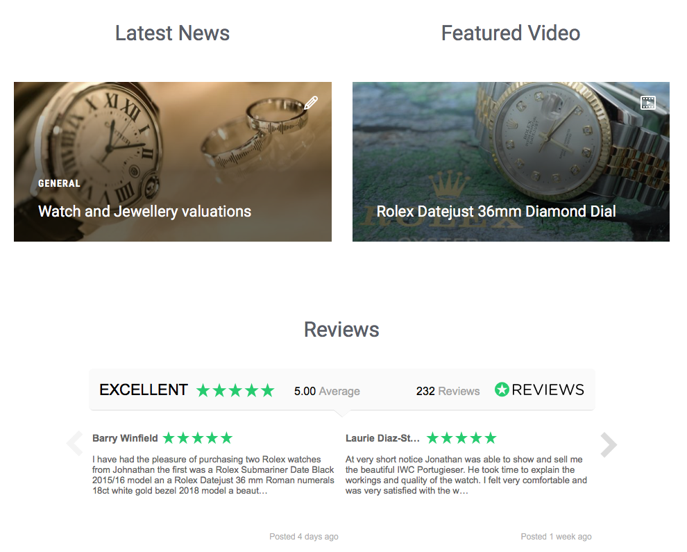 Ediburgh Watch Company Reviews.io