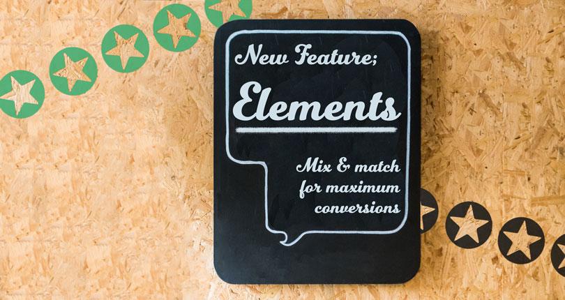 New Widget: Elements - Mix & Match For Maximum Conversions