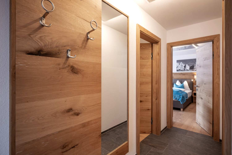 Vorraum in der Steiner Appartement Suite 502