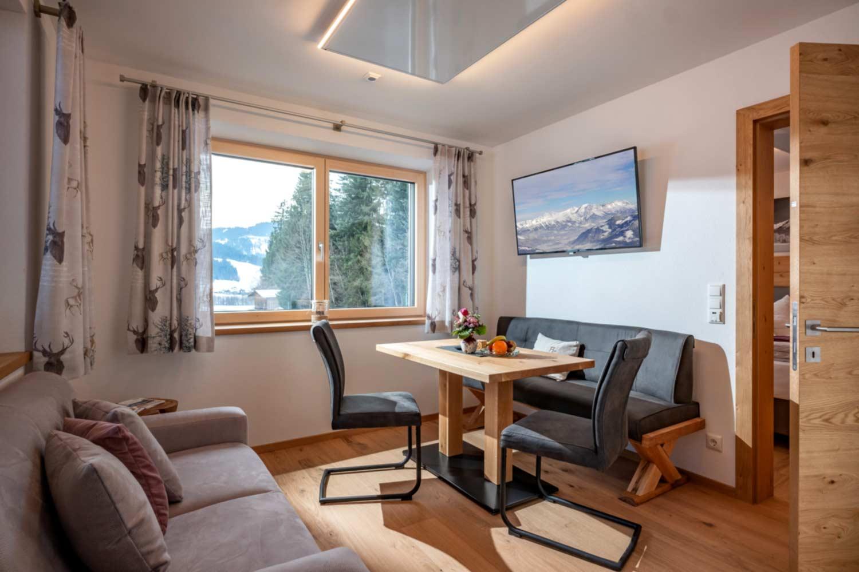 Appartement Suite Steiner Wohn-, Essbereich