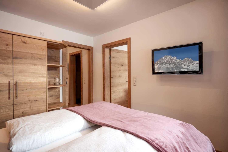 Appartement Suite Steiner Schlafzimmer